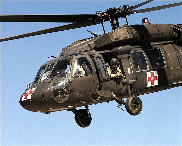 UH-60 Blackhawk Army Ambulance Helicopter Photo Print for Sale