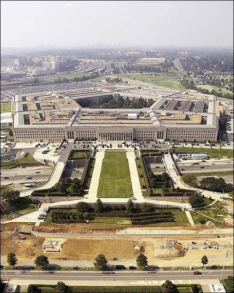 Pentagon & Parade Ground Wash. D.C. Aerial Photo Print for Sale