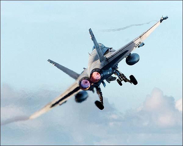 F/A-18 / F-18 Hornet & CVN 74 Navy Photo Print for Sale