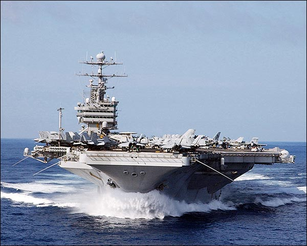 Aircraft Carrier USS John C. Stennis CVN 74 Photo Print for Sale