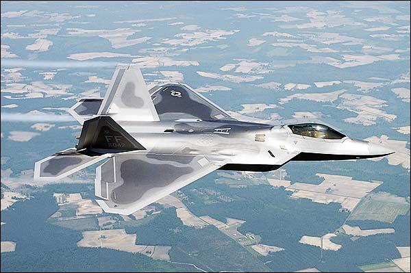 F/A-22 / F-22 Raptor Stealth Fighter DOD Photo Print for Sale