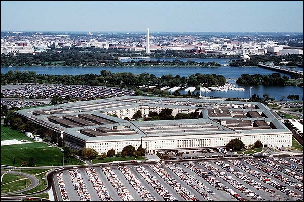 Pentagon Aerial View Washington, D.C. Photo Print for Sale