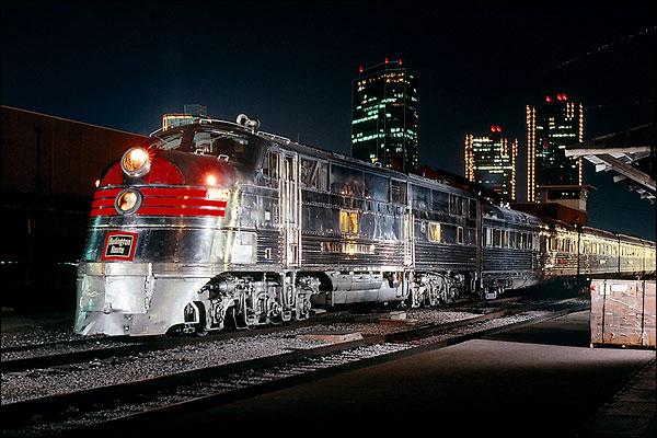 CB&Q Railroad 'Nebraska Zephyr' E-5A Train Photo Print for Sale