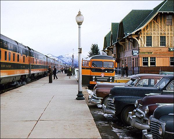 Great Northern Railway 'Western Star' Train Photo Print for Sale