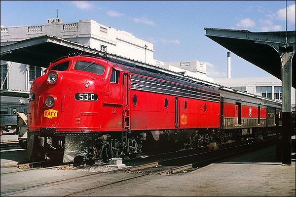 Missouri, Kansas & Texas E-8A Railroad Photo Print for Sale