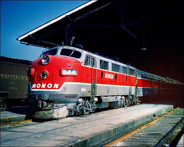 Monon 84-A Train  Photo Print for Sale