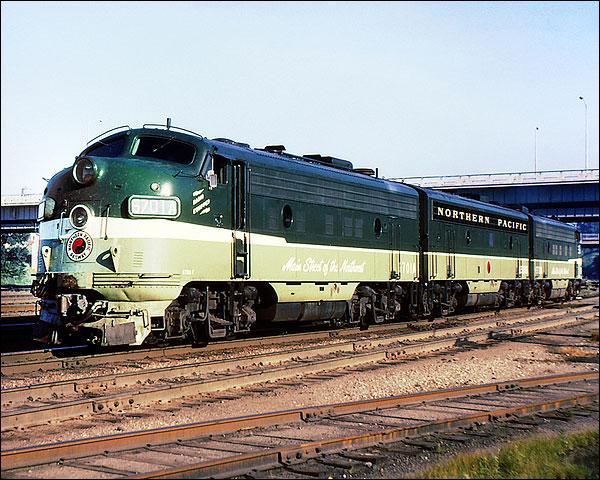 Northern Pacific F-9ABA Railroad Photo Print for Sale