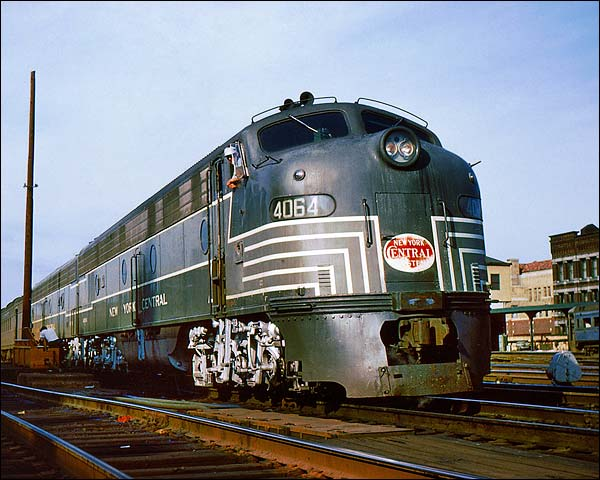 New York Central E-8AA Train Photo Print for Sale