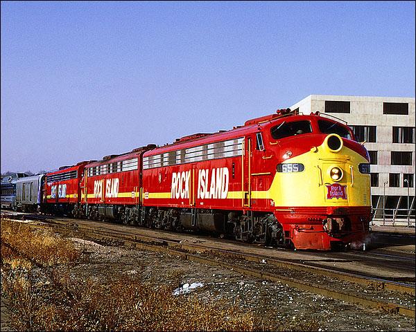 E-8A RI Railroad Photo Print for Sale