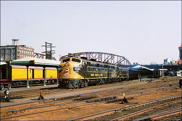 Spokane, Portland & Seattle F-7A Railroad Photo Print for Sale