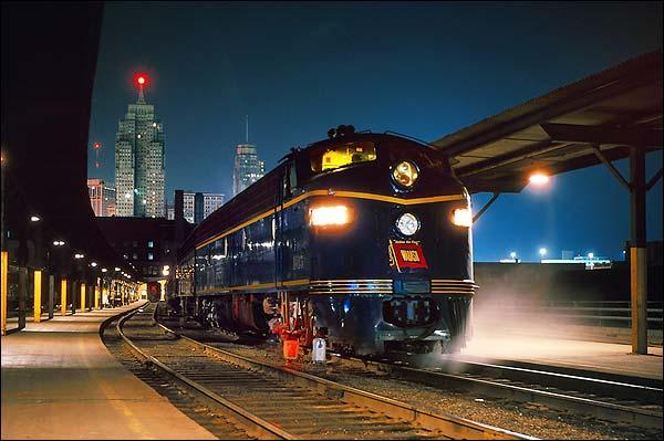 Wabash Railroad E-8A Passenger Train Photo Print for Sale