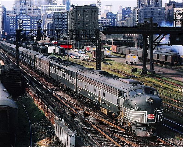 New England States' E-8 E-7A New York Central Railroad Photo Print for Sale