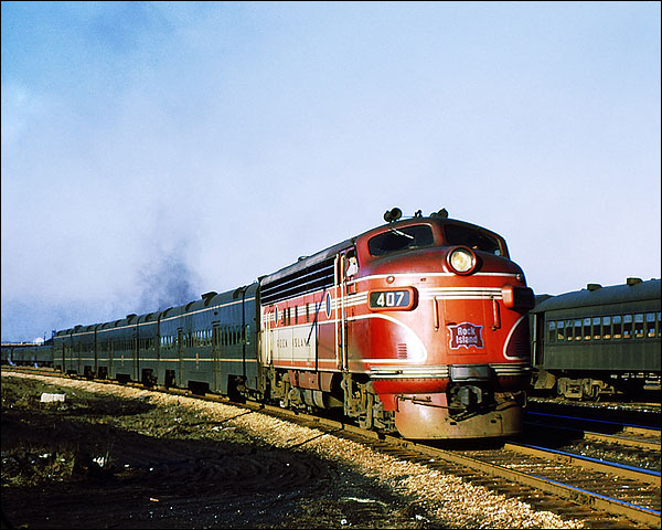 Chicago, Rock Island and Pacific Railroad #407 Train Photo Print for Sale