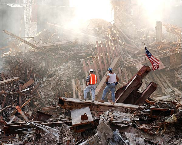 Contractors World Trade Center 9/11 Photo Print for Sale