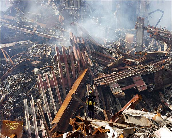 Ground Zero Ruins 9/11 Photo Print for Sale