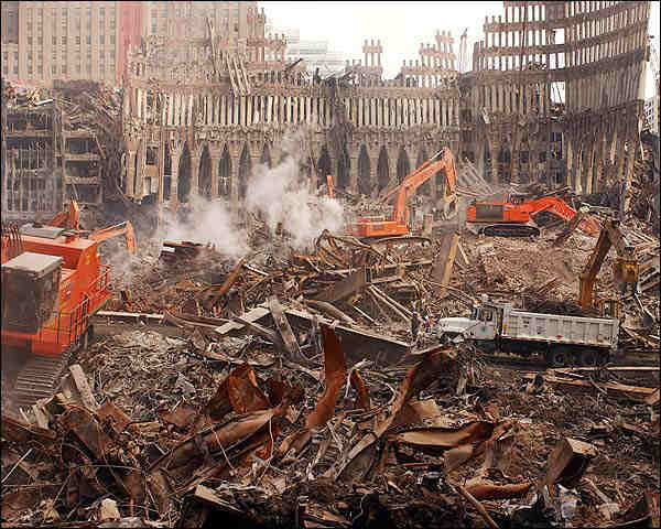 9/11 World Trade Center Site Debris Removal Photo Print for Sale
