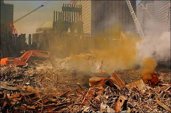 Ground Zero Excavation 9/11 Photo Print for Sale