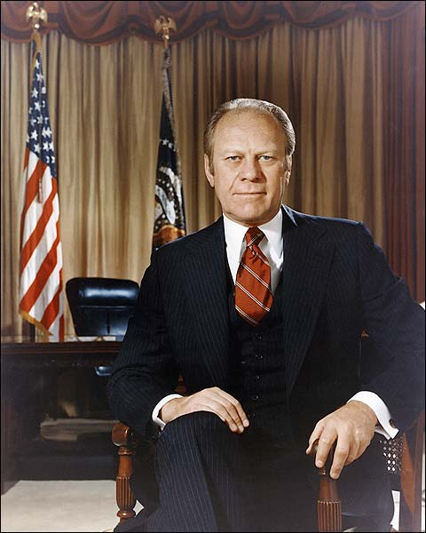 President Gerald Ford Official Portrait Photo Print for Sale