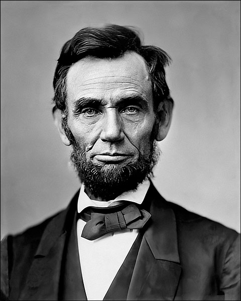 Abraham Lincoln Portrait Photo Print for Sale
