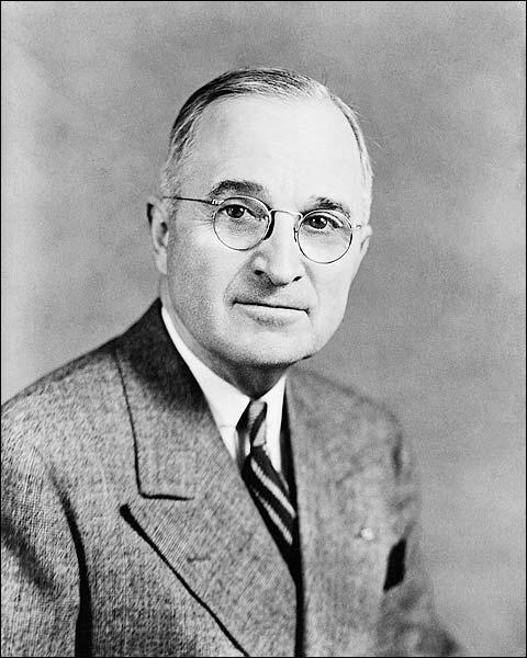 President Harry S Truman Official Portrait Photo Print for Sale