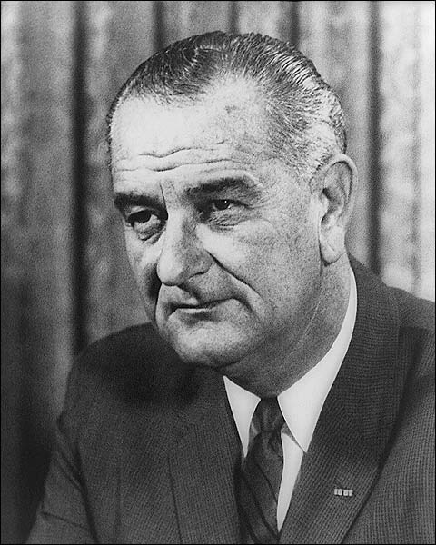 President Lyndon Johnson Official Portrait Photo Print for Sale