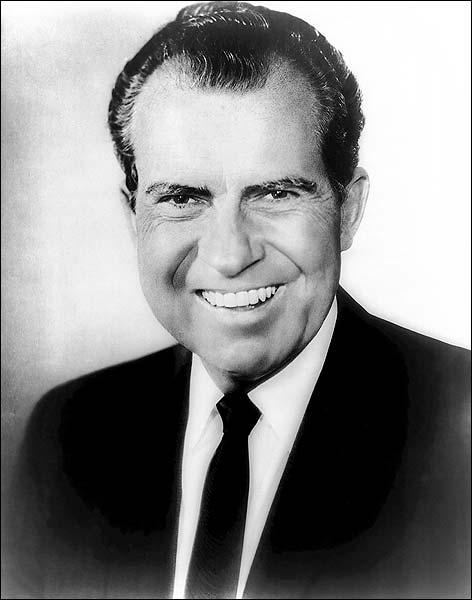 President Richard M. Nixon Portrait Photo Print for Sale