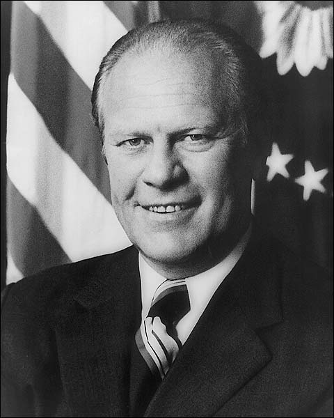 President Gerald R. Ford Official Portrait Photo Print for Sale