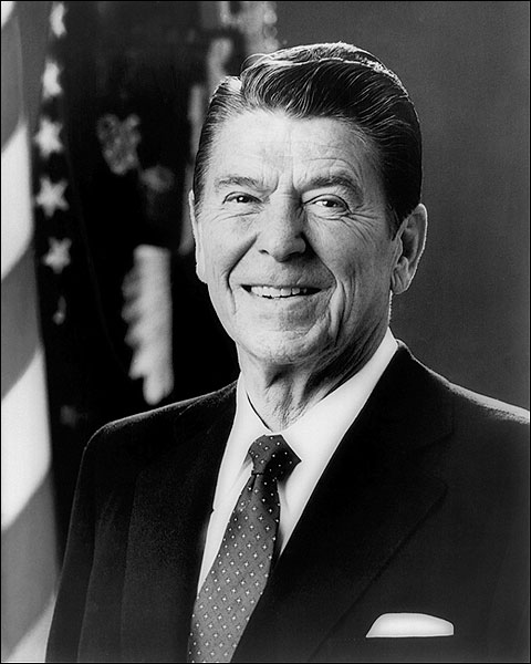 President Ronald Reagan Official Portrait Photo Print for Sale
