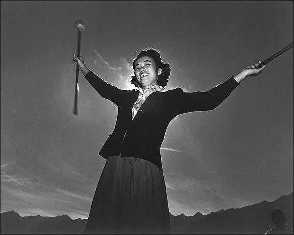 Florence Kuwata WWII Manzanar Ansel Adams Photo Print for Sale