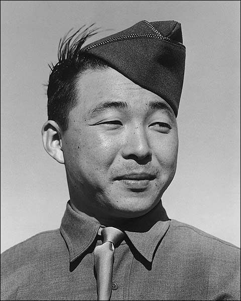 Private Kato WWII Manzanar Ansel Adams Photo Print for Sale