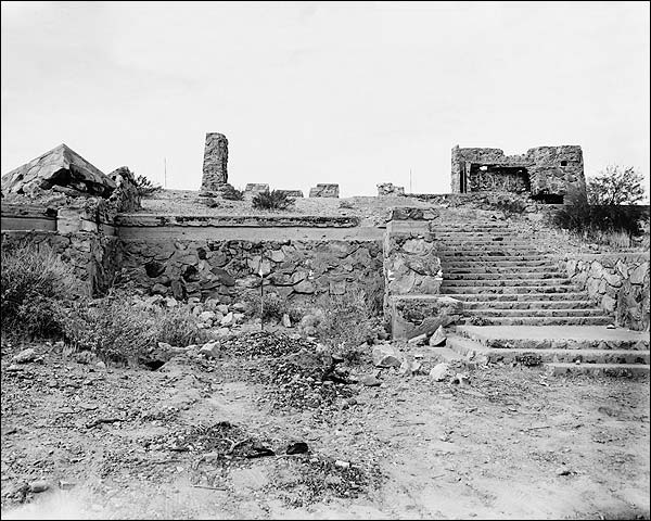 Rose Pauson House Ruins, Frank Lloyd Wright Photo Print for Sale