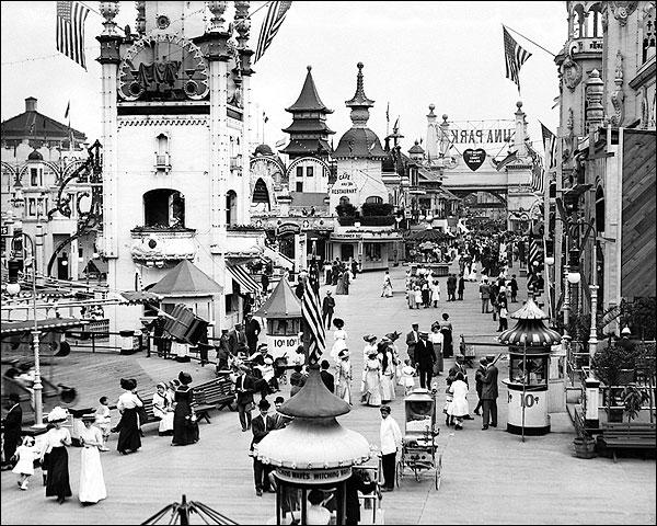 Luna Park, Coney Island New York City Photo Print for Sale