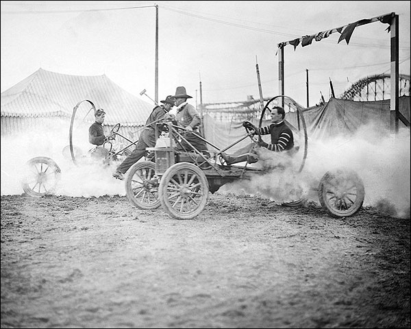 Auto Polo, Coney Island, New York City Photo Print for Sale
