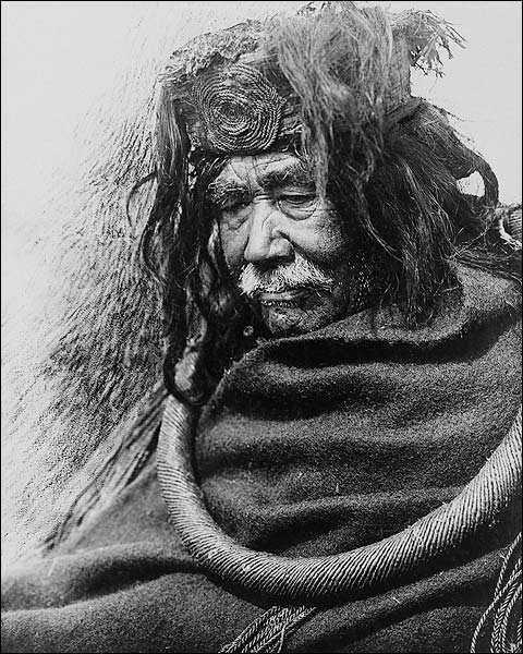 Hamatsa Nakoaktok Man Edward S. Curtis Photo Print for Sale