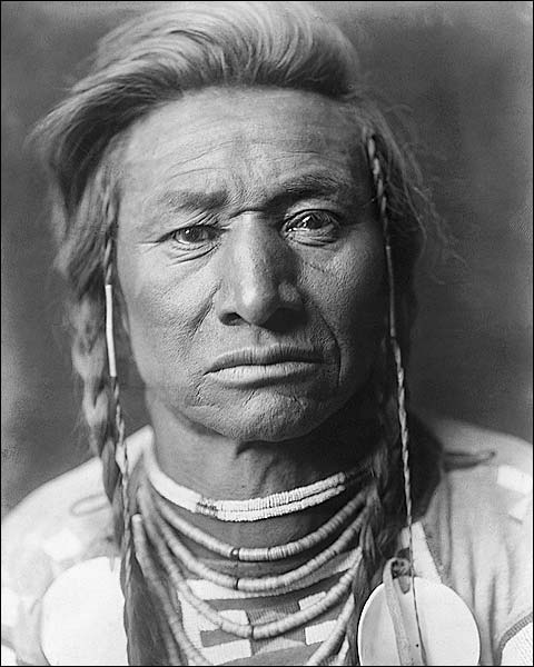 Crow Indian Chief Child Edward S. Curtis Photo Print for Sale