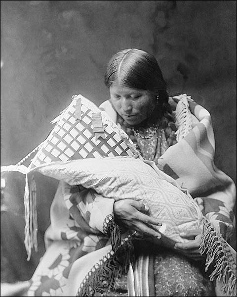 Cheyenne Indian Mother & Child Photo Print for Sale