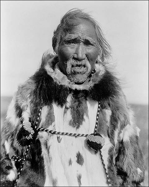 Kobuk Indian Charlie Wood Edward S Curtis Photo Print for Sale