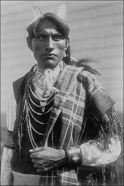 Reuben Black Boy Edward S Curtis Portrait Photo Print for Sale