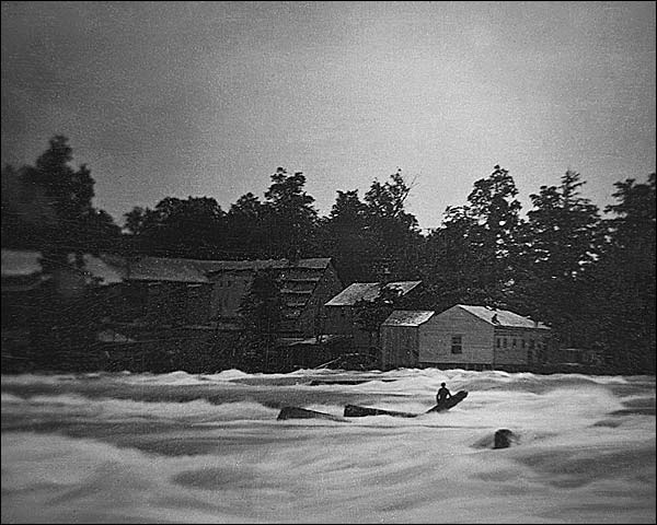 Niagara River Platt Babbitt Daguerreotype Photo Print for Sale