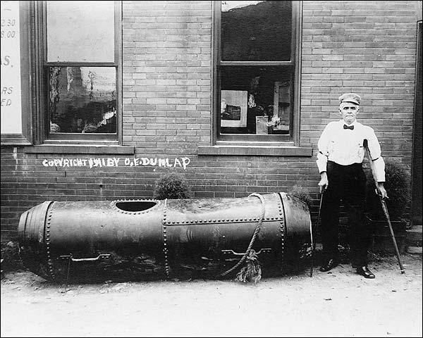 Niagara Falls Barrel Daredevil Bobby Leach Photo Print for Sale