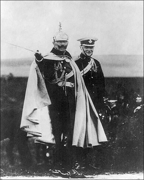Winston Churchill and Kaiser Wilhelm Photo Print for Sale