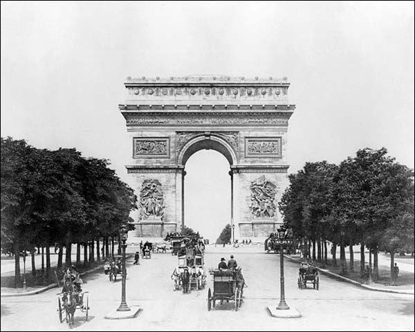 Arc de Triomphe de l'Étoile Paris France Photo Print for Sale