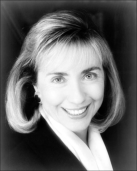 First Lady Hillary Clinton Portrait Photo Print for Sale