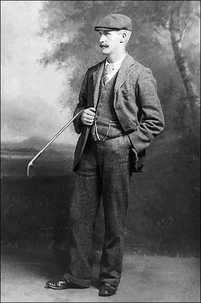 Golfer John Henry Taylor British Open Golf Photo Print for Sale