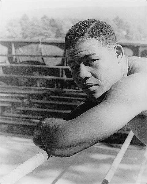 Boxer Joe Louis Portrait Before Nova Fight Photo Print for Sale