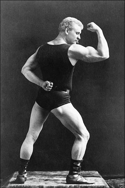 Victorian Bodybuilder Eugen Sandow 1893 Photo Print for Sale