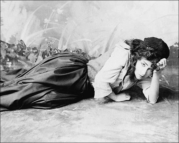 Actress Minnie Maddern Fiske Portrait 1897 Photo Print for Sale