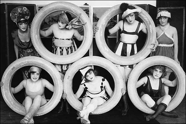 Mack Sennett's Sexy Bathing Beauties Photo Print for Sale