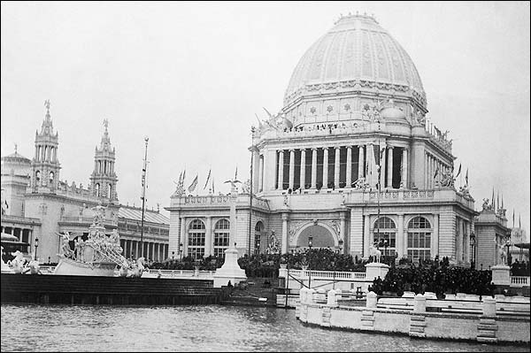 Worlds Columbian Expo Chicago 1893 Photo Print for Sale