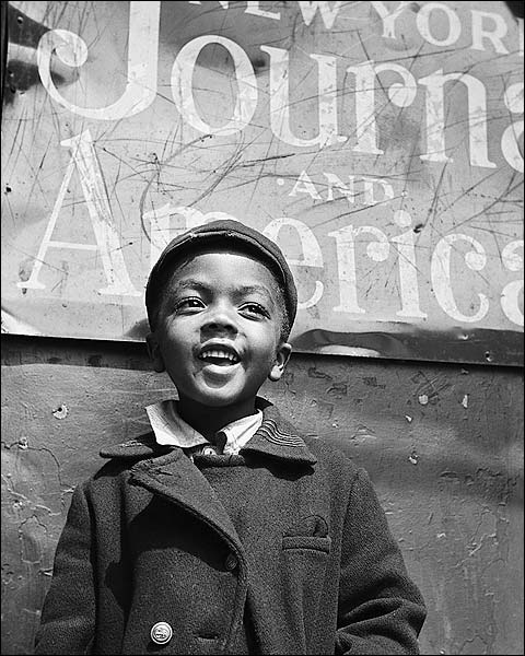 Harlem Newsboy New York City Gordon Parks Photo Print for Sale